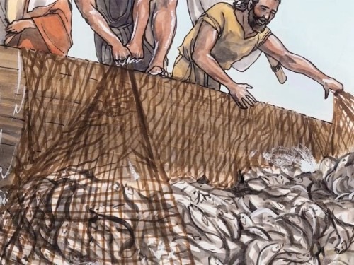Disciples were called to be a fisher of men